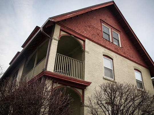 The owners of the historic three-story home at the