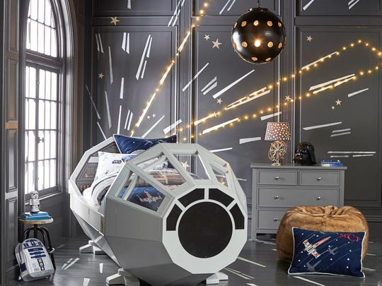 Star Wars Millennium Falcon bed ($3,999) at Pottery Barn Kids.