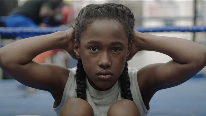 """The opening scene of """"The Fits"""" features local student Royalty Hightower as Toni."""