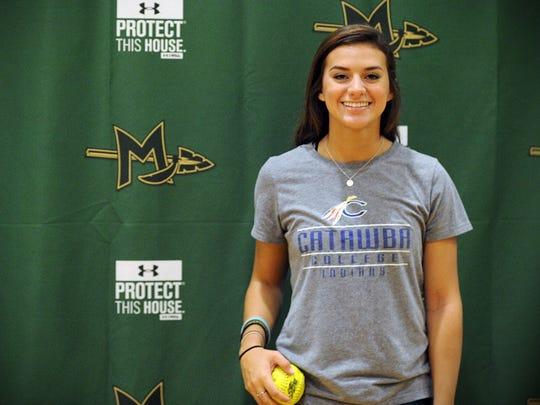 Mardela softball player Sydney Goertzen will continue