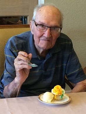 Jack Payton digs in on his 100th birthday.