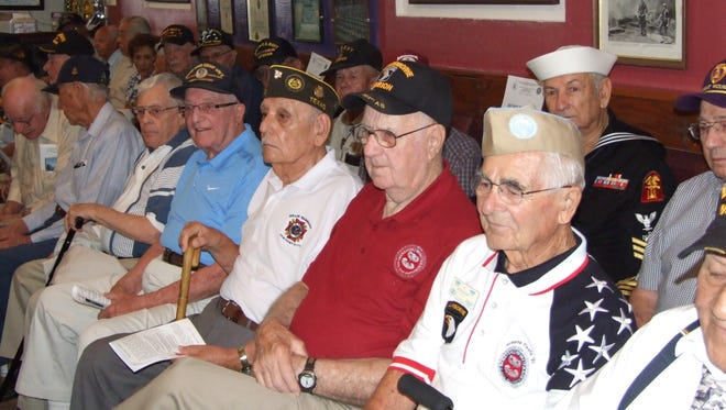 The annual D-Day celebration has been drawing a large number of participants and spectators. It will be held at the Chamizal National Memorial theater at 10 a.m. June 6 this year.
