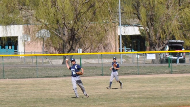 It may be spring break for Ruidoso, but the baseball team isn't taking much of one. The Warriorshit the road to meet Dexter at 3 p.m. Thursday and go on to host New Mexico Military Institute in district play at 11 a.m. and 1 p.m. Saturday.