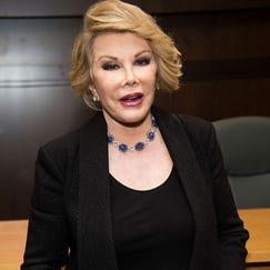 Photos: Joan Rivers, the unapologetic fashionista and diva