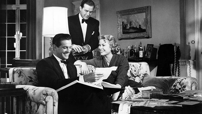 "Ray Milland, Grace Kelly and Robert Cummings star in ""Dial M for Murder,"" the Alfred Hitchcock classic that will be shown this weekend at the Paramount Theatre."