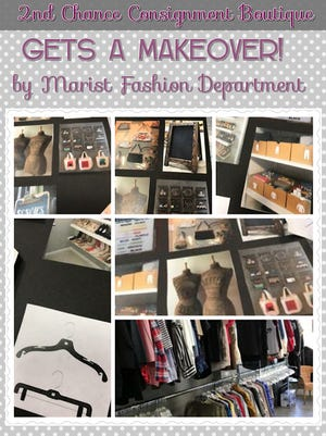 Marist Fashion Department students recently completed a makeover at 2nd Chance Consignment.