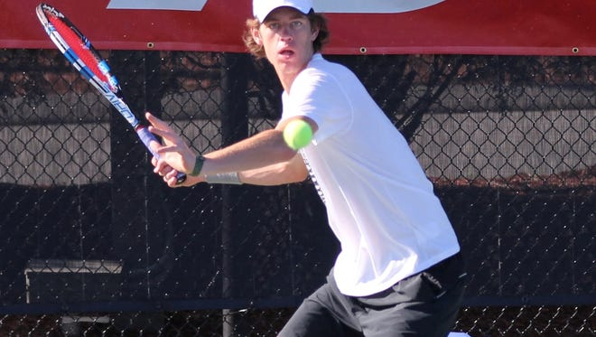 Brevard rising junior Joseph Schrader has been playing this week in the New Balance High School Tennis Championship in Boston.