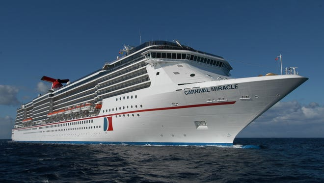 The 2,124-passenger Carnival Miracle is now sailing year-round from Tampa.