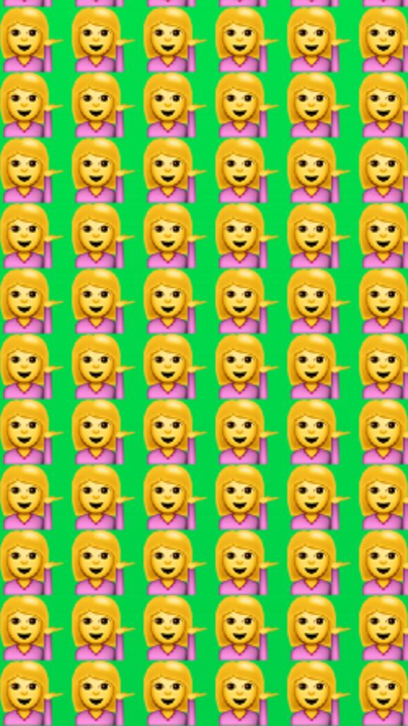 Emoji hair 1