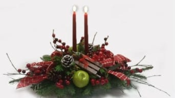 Long Lasting and Festive Holiday Centerpiece