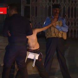 Iraqi police disarm child suicide bomber