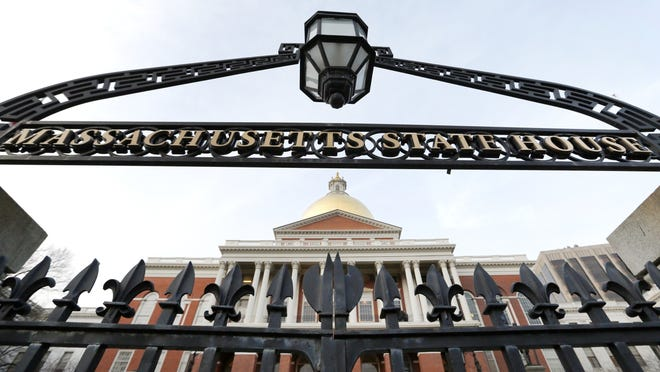 This Jan. 2 file photo shows the Massachusetts State House in Boston.