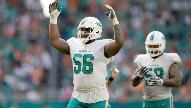 Dolphins defensive tackle Davon Godchaux is in the final year of his rookie contract. Will the Dolphins offer a long-term deal before free agency?