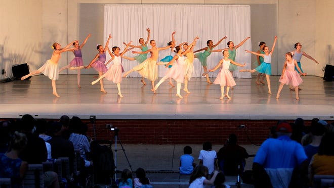 """Ashland Regional Ballet will hold its annual """"Dance Concert in the Park"""" Aug. 9 at Guy C. Myers Memorial Band Shell."""