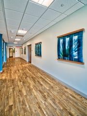 Inside the newly constructed Barbara Ann Karmanos Cancer Institute at McLaren Port Huron