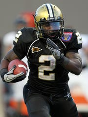 2011 file photo: Vanderbilt Commodores running back