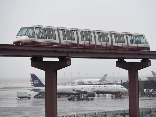 The spending plan includes money to maintain, but not replace, the AirTrain monorail at Newark-Liberty International Airport.