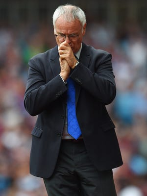 Claudio Ranieri was fired with Leicester one point and one place above the relegation zone after 25 games of a woeful title defense.