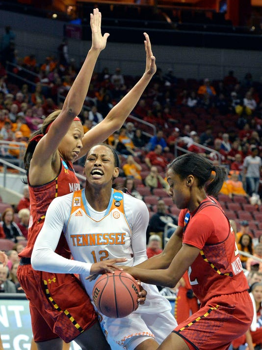 Lady Vols' push for Nashville ended by Maryland