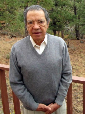 FILE - This Oct. 22, 2009, file photo shows former Los Alamos National Laboratory nuclear physicist Pedro Leonardo Mascheroni on his back deck in Los Alamos, N.M.  Mascheroni pleaded guilty to trying to help Venezuela develop a nuclear weapon was sentenced Wednesday, Jan. 28, 2015, to five years in prison and three years of supervised release.