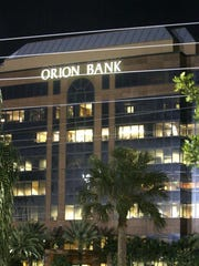 Orion Bank at the northeast corner of Goodlette-Frank Road and Golden Gate Parkway.