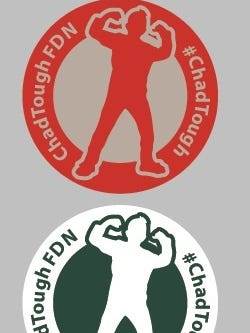 Michigan State and Ohio State players will wear special decals on Saturday honoring Chad Carr.