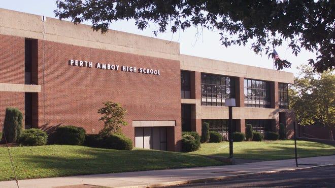 Perth Amboy High School on Eagle Avenue.