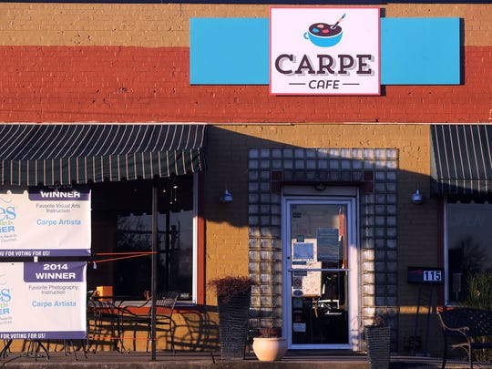 The Tri-Star Music and Arts Festival will be held at Carpe Cafe, 115 Front St. in Smyrna, from 2 to 11 p.m. Saturday.