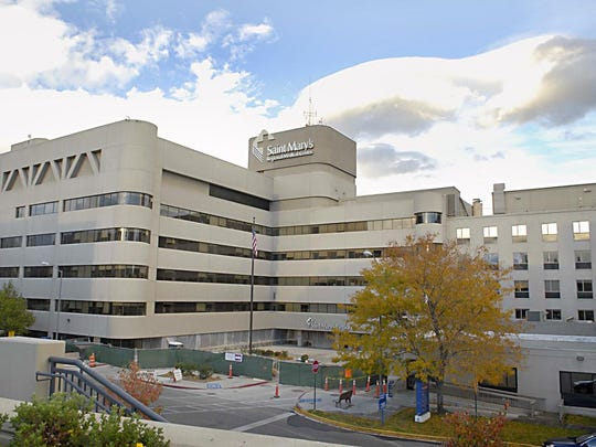 RGJ file File photo of Saint Mary's Regional Medical