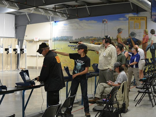 Air Gun Range at the Gary Anderson CMP Competition
