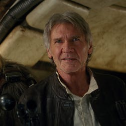 Images from 'Star Wars: The Force Awakens'