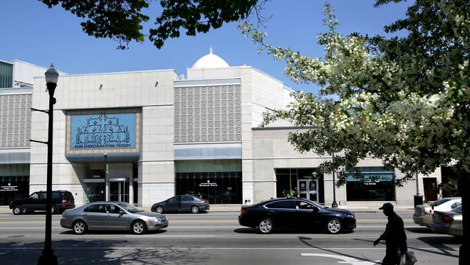 The Arab American National Museum in Dearborn.