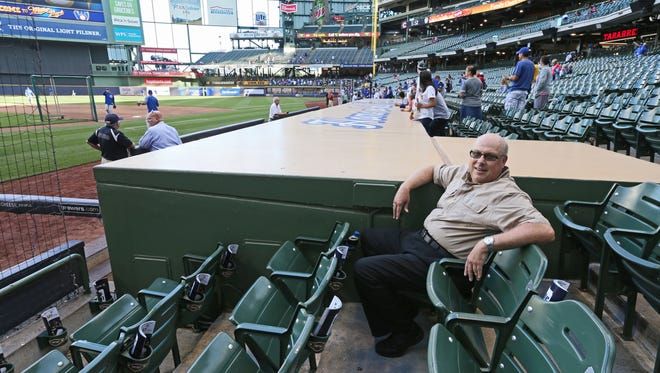 Bob Koehler has attended every home game since Aug. 30, 1981. His streak is at 2,882 consecutive games going into Tuesday night's game against the St. Louis Cardinals at Miller Park.