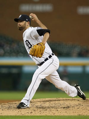 Tigers relief pitcher Louis Coleman hasn't allowed a run in seven innings of work so far this season.