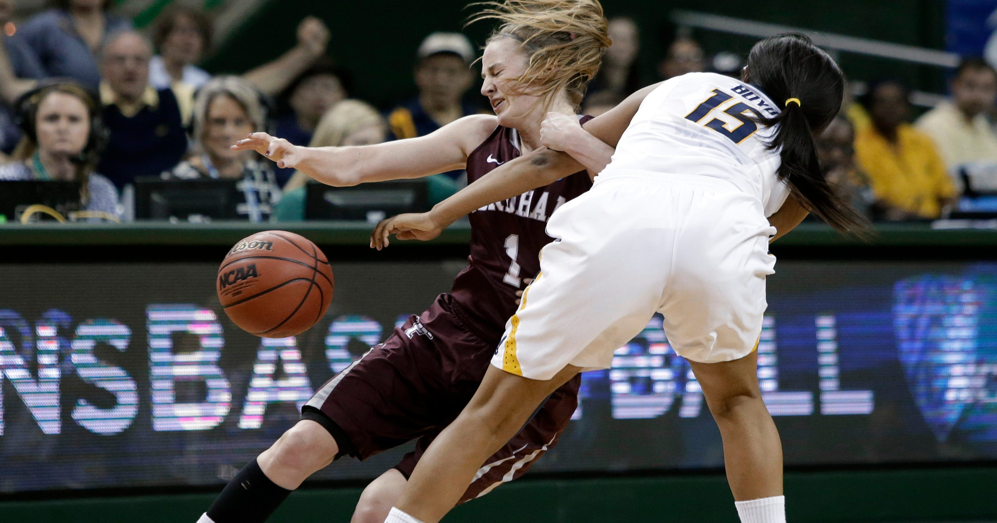Ncaa Women California Edges Fordham