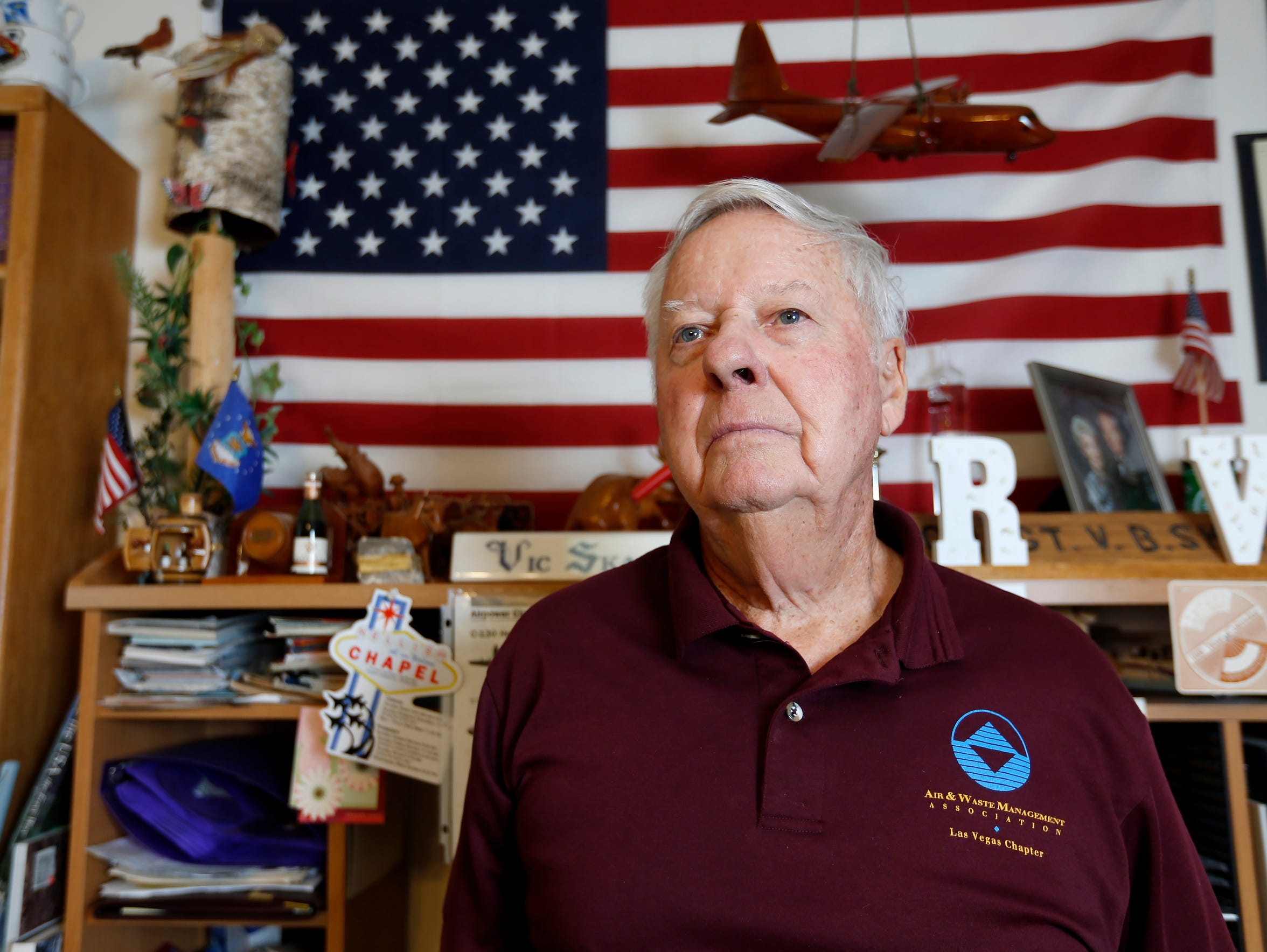 Air Force veteran Victor Skaar says he has been denied