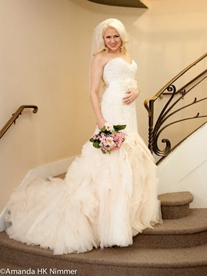 Heather Klewicki will be modeling wedding dresses during the fashion show at Bridal Faire 2016.