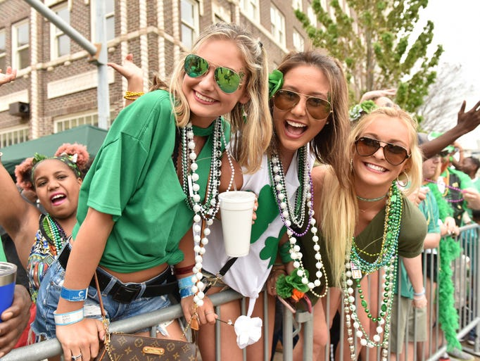 Hal's St. Paddy's Parade &  Festival gets underway
