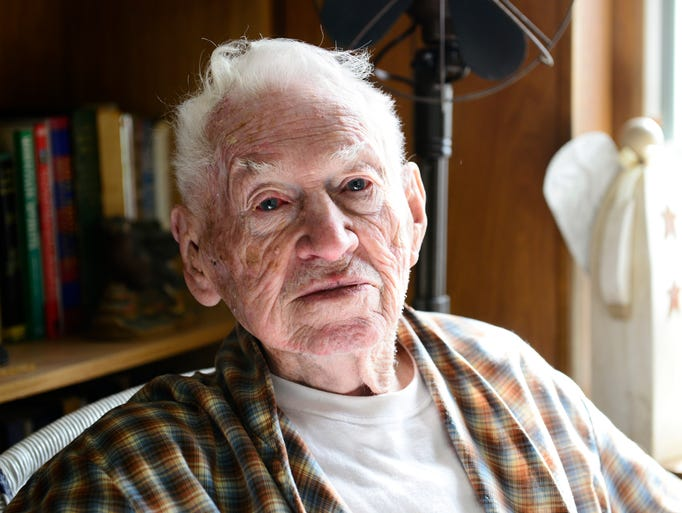 Mervin Rose, 95, of Port Clinton survived the D-Day