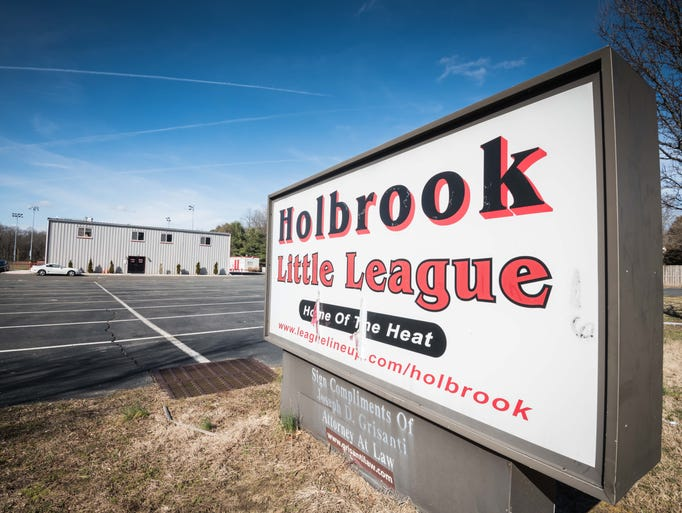 Holbrook Little League's headquarters in Jackson on