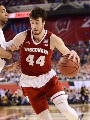 Wisconsin's Frank Kaminsky.