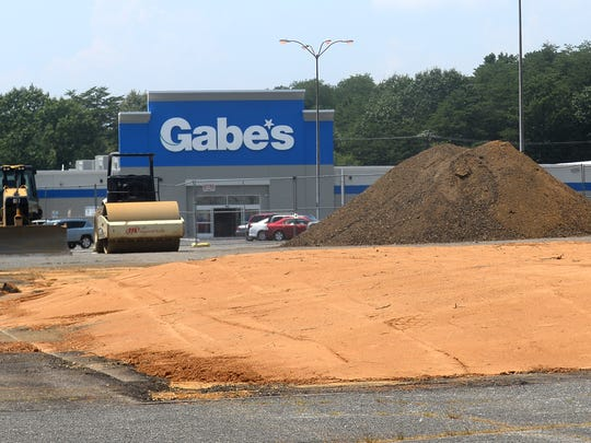 A pad site was constructed for the future Olive Garden on South Delsea Drive in Vineland.