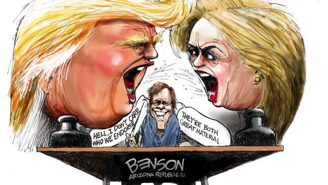 Cartoon for Sept. 28, 2016.