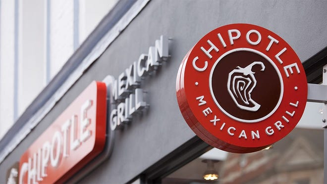 Chipotle Mexican Grill restaurant sign