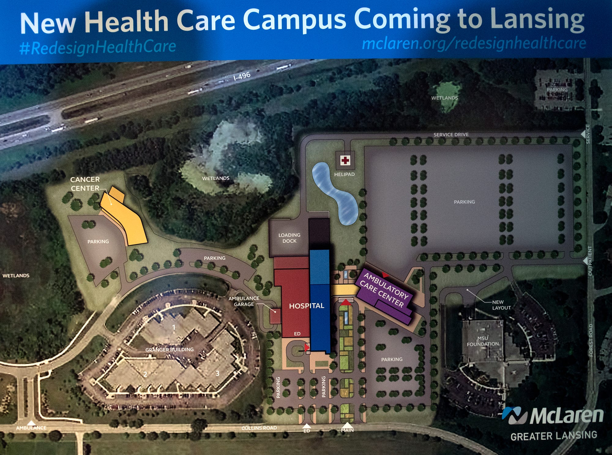Charming Finally, Lansing Wonu0027t Be The Red Headed Stepchild For Its Own Medical  School;, Which Was Always Crazy To Me. This Will Be MSUu0027s Flagship  Hoospital Campus ...