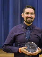 Jason Ford, a fifth-grade teacher at the Rochester City School District's Francis Parker School #23, stepped in the finish directing In the Heights for the Wheatland-Chili High School's Drama Club after the death of their long-time director Jill Skivington Jackett in November 2017.