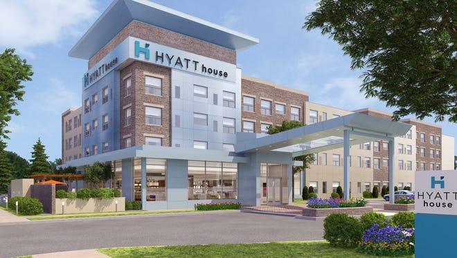 Hyatt Hotel's select service brands include Hyatt House.