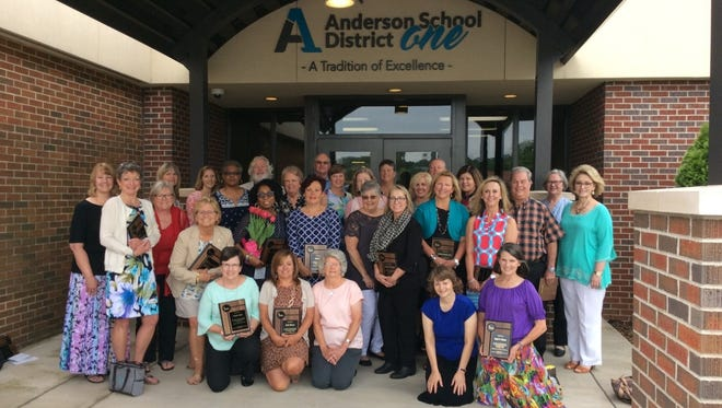 Anderson School District 1's 38th annual Retirement Luncheon took place May 6.
