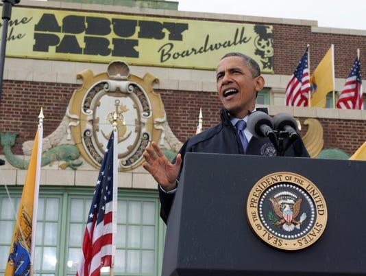 Obama in Asbury Park