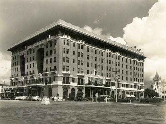 The San Carlos Hotel is pictured in the 1940s.